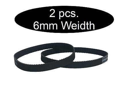 GT2/2/x closed timing belt 1 88mm 6/mm wide