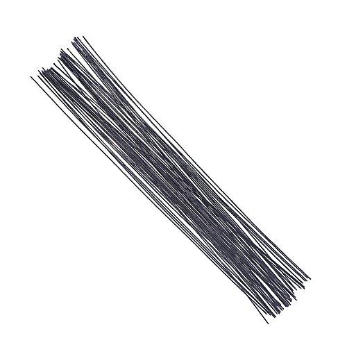 - Decora 18 Gauge Black Floral Wire 16 inch,50/Package
