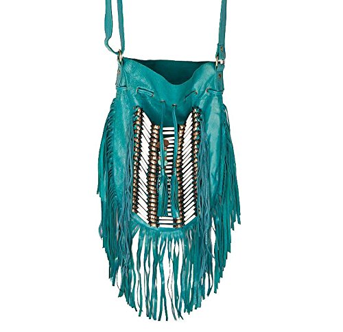 turquoise-boho-bag-real-leather-fringe-purse-bohemian-bags-hobo-tote-handbag