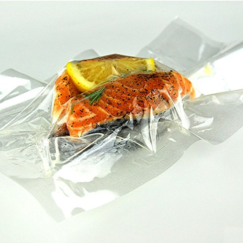 Klear Cook Klearcook Vac Pac - High Temperature Cooking & Vacuum Bags - 125 one quart bags