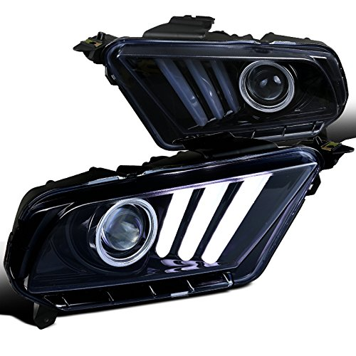 Mustang Glossy Projector Headlights Sequential