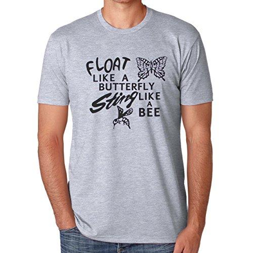 Float Like A Butterlfy Sting Like A Bee Herren T-Shirt
