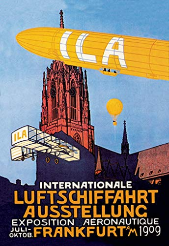 Buyenlarge 0-587-01515-2-DC-36x24_032017 ILA Internationale Luftschiffahrt Ausstellung Frankfurt 1909 Wall Decal from Buyenlarge