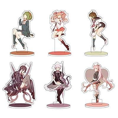 Opopark Anime Danganronpa Dangan Ronpa Komaeda Nagito Acrylic Stand Figure Cool Gift(H01): Office Products