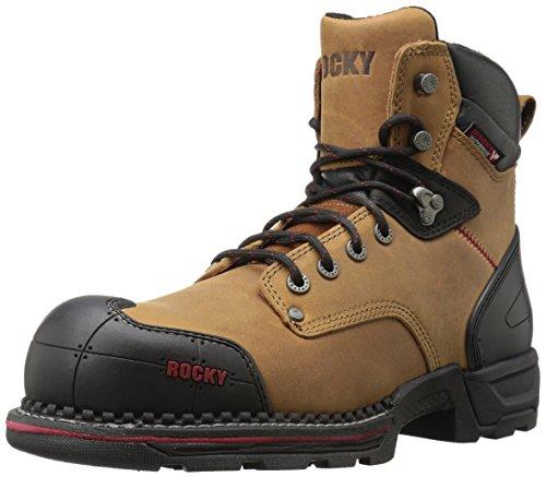 Rocky Mens Rkk0210 Bouw Boot Gek Paard