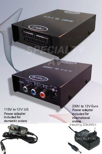 Amazon.com: specialty-av Euroconector a Component Video ...