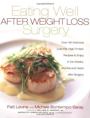 Eating Well After Weight Loss Surgery: Over 140 Delicious Low-Fat High-Protein Recipes to Enjoy in the Weeks, Months and Years After Surger by Patt Levine, Michele Bontmpo-Saray
