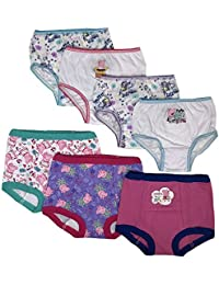 Baby Toddler Girls' 3pk Training Pants and 4pk Panty