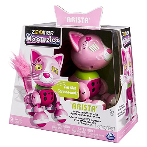 Zoomer Meowzies, Arista, Interactive Kitten with Lights, Sounds and Sensors, by Spin Master by Zoomer (Image #4)