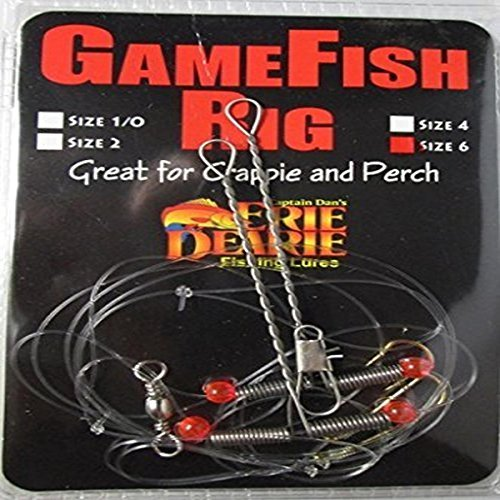 Carlson Tackle Perch/Crappie Rigs #6 Fishing ()