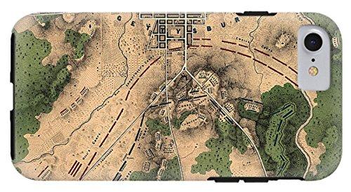 Pennsylvania Antique Map (iPhone 8 Case