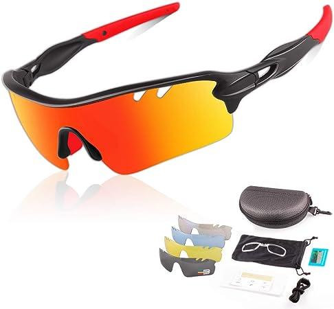 Occhiali da Sole con Protezione UV400 2 Taglie Uomo e Donna Horus X Occhiali Sportivi Bici MTB Ciclismo Corsa allAperto Occhiali da Sole Sportivi