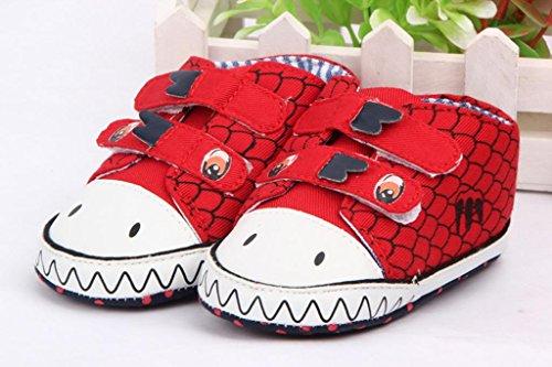 Smile YKK Drache Bilder Schuh Krabbelschuhe Baby-Unisex Lauflernschuhe 11 Grün Rot