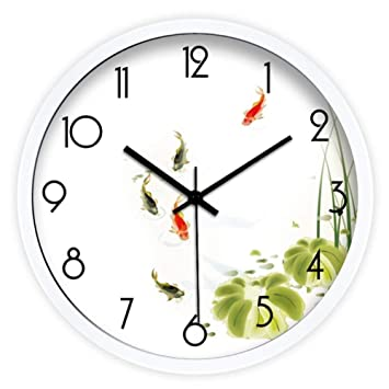 Amazon com: YHEGV Wall Clock/Target of The Decoration