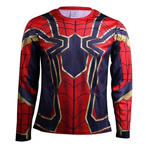 Koveinc Superhero Halloween Cosplay Costume T-Shirt 3D Style