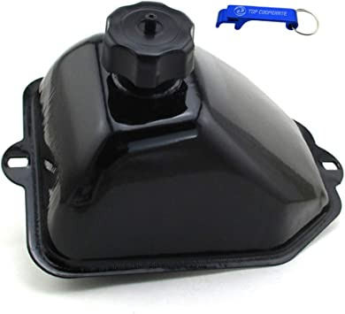CLEO Metal Fuel Gas Tank With Cap Over For Chinese 50cc 70cc 90cc 110cc 125cc ATV Quad 4 Wheeler Colster TaoTao Buyang Coolsport Sunl Eagle JCL Peace