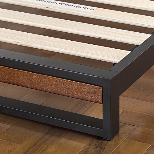 home, kitchen, furniture, bedroom furniture, beds, frames, bases,  beds 3 discount Zinus Suzanne Metal and Wood Platform Bed with in USA
