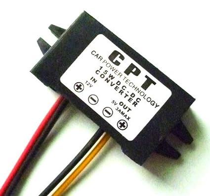 DC//DC Converter Regulator 12V to 5V 3A 15W Car Led Display Power Supply Module