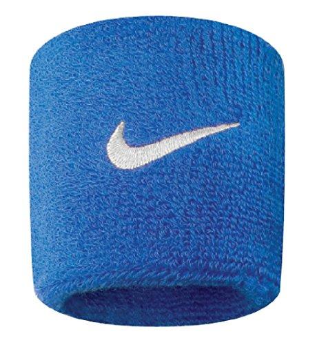 Nike Swoosh Wristbands (Royal Blue/White, Osfm) (Renewed)