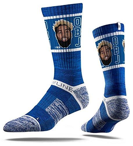 Strideline New York Giants Odell Beckham Jr. Adult Crew Socks