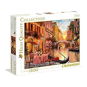 Clementoni 31668 High Quality Collection Puzzle Venezia 1500 Pezzi