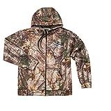 NFL Baltimore Ravens Boys Champion Realtree Xtra Polyester Tech Fleece Full Zip Hoodie, X-Large, Camo