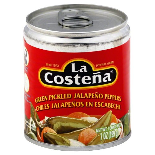 La Costena Whole Jalapeno (La Costena Green Pickled Whole Jalapeno Peppers, 7-Ounce Cans (Pack of 12))