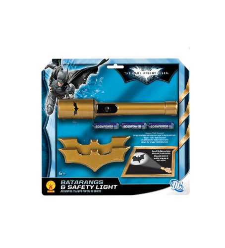 Batman: The Dark Knight Rises: Batarangs and Safety Light (Gold) -