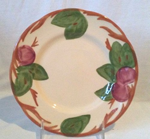 Franciscan Apple Salad Plate, Franciscan Apple Salad Plate Made in England 1995, Johnson Brothers Franciscan Apple