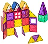 Playmags 3D Magnetic Blocks for Kids - Magnet