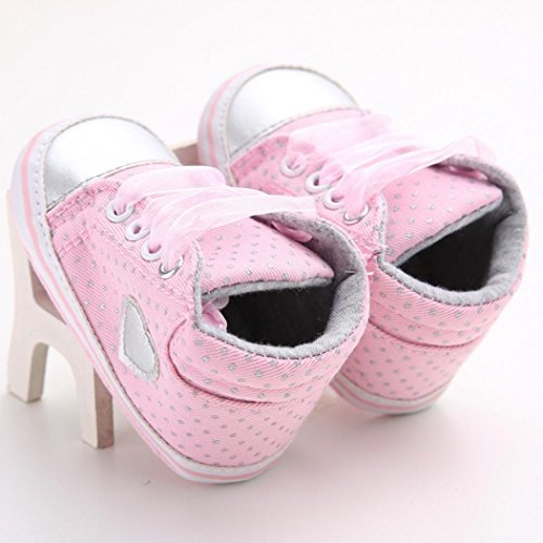 Goodtrade8 Gotd Toddler Newborn Baby Girls Girl Crib Shoes Winter Boots Prewalker Warm Martin (0-6 Months, Pink01)