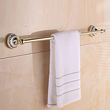 Znzbzt Blau Gold Handtuchhalter Handtuchhalter Einhebelsteuerung