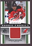 DAMIEN BRUNNER 2013-14 SP GAME USED ROOKIE JERSEY PATCH RC NEW JERSEY $15