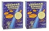 Trader Joe's Cheddar Rocket Crackers 7.05 oz. (Pack of 2 bxs)