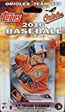 Baltimore Orioles 2016 Topps Baseball Factory Sealed EXCLUSIVE Special Limited Edition 17 Card Complete Team Set with Manny Machado & Many More Stars & Rookies! Shipped in Bubble Mailer!