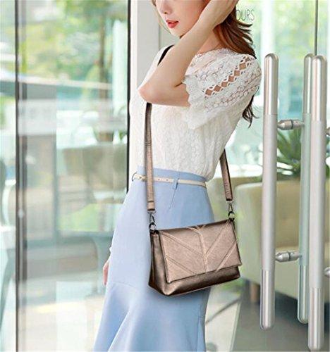 Dama Only Bolso Fashion 29x11x19cm Moda 29x11x19cm Claret claret The Sjmmbb Handbag Coppery Bolso Cobriza Única Sjmmbb Lady La vqXwC