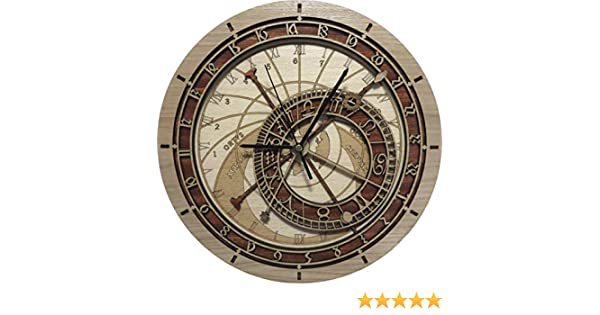 Amazon.com: Wooden Prague Astronomical Clock - Special request (11.80