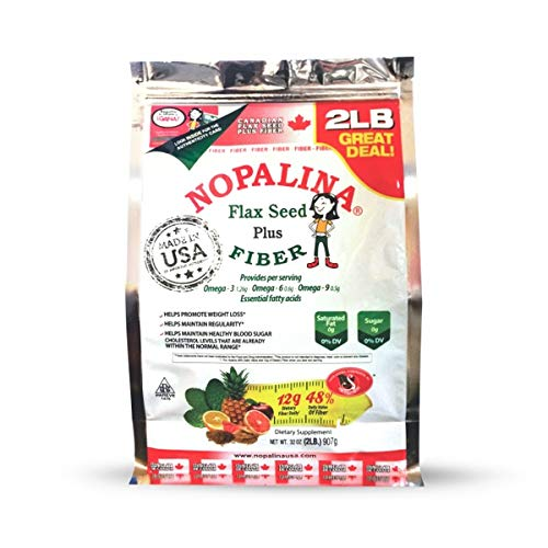 - NOPALINA Flax Seed Plus Fiber 32OZ (2LB)