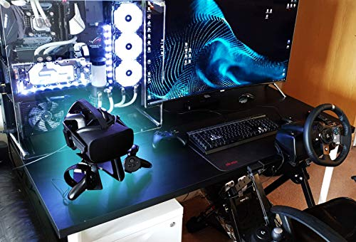 AMVR VR Stand,Headset Display Holder for Oculus Rift Headset and Touch Controller
