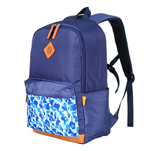 bccdc12e4d88 Vbiger Unisex School Backpack Adorable Student Shoulders Bag Multi-functional  School Bag Casual Out