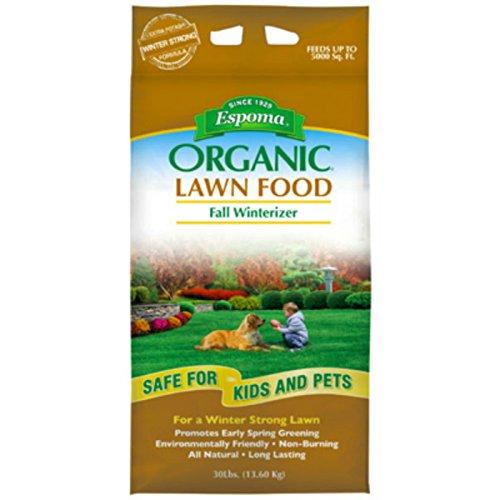 Espoma EOFW30 Organic Fall Fertilizer, 30-Pound (The Best Organic Lawn Fertilizer)