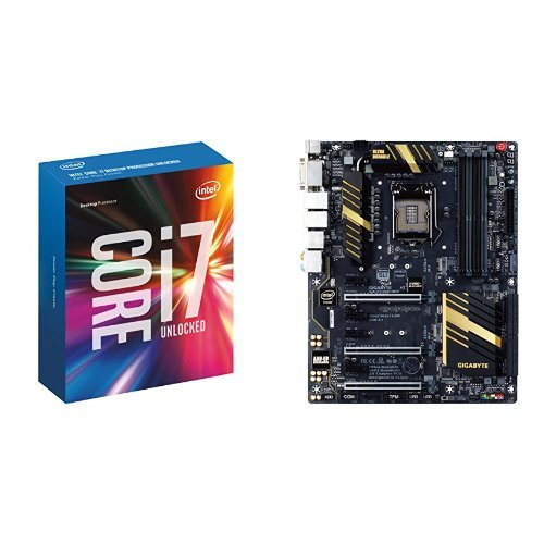 Intel Core I7-6700K with Gigabyte Z170X-UD5 Motherboard Bundle (Cpu I7 Motherboard)