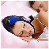 #6: SleepWell Pro Adjustable Stop Snoring Chin Strap (Blue)