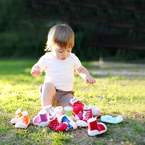 Attipas–Zapatos de robot verde bebé Walker zapatos para zapatillas verde verde Talla:22.5