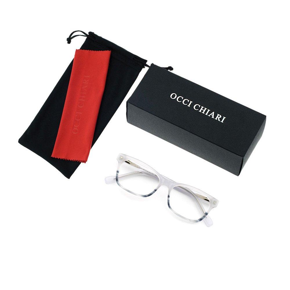 OCCI CHIARI Fashionable Plastic Eyewear Frame With Spring Hinges For Women
