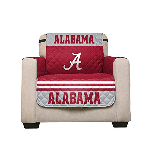 er - College Team Sofa Slipcover Set / Furniture Protector - NCAA Officially Licensed (Chair, University of Alabama Crimson Tide) (Alabama Fashion)