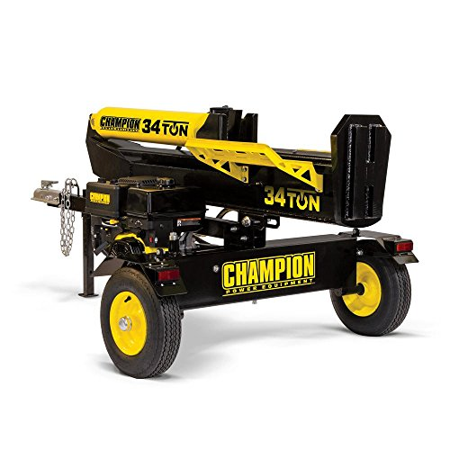 Champion Power Equipment 34 Ton 338cc Log Splitter