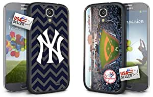 New York Yankees Chevron and Stadium Hard Case COMBO TWO PACK for Samsung Galaxy S5