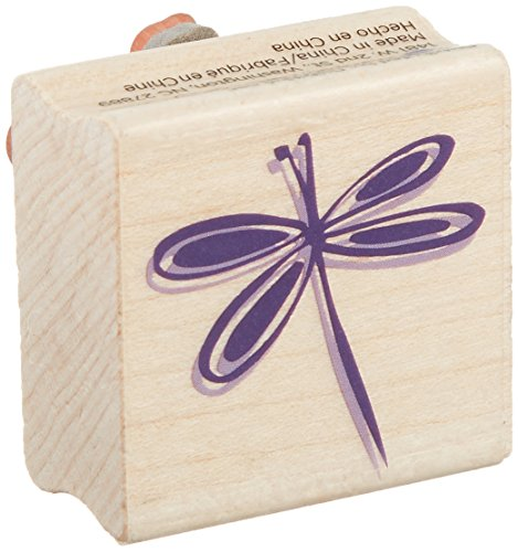 Hampton Art Young Dragonfly Rubber Stamp