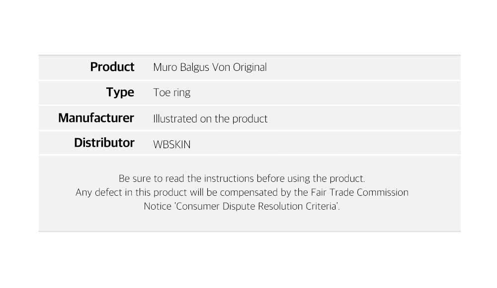 Muro Balgus Von Toe Separator for Bunions and Posture Correction
